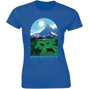 French Alps Countryside Vacation Nature T-shirt